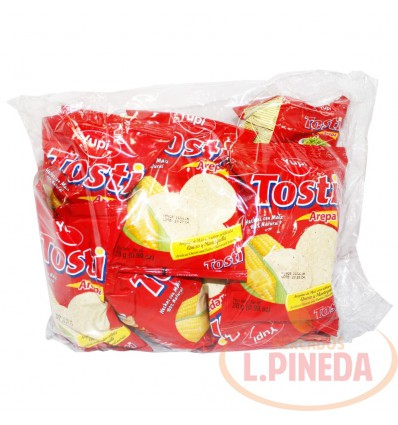 Mecato Tosti Arepa Queso Mantequilla X 28 G