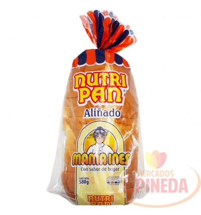 Pan Nutripan Mama Ines X 580 G Aliñado