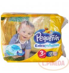 Pañal Pequeñin Etapa 3 X 10