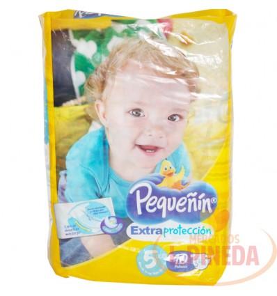 Pañal Pequeñin Extrac. Etapa 5 X 10