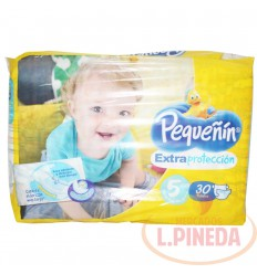 Pañal Pequeñin Extrac. Etapa 5 X 30